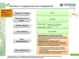 Условия льготной ипотеки под6,5%. онадействует до1ноября 2020года