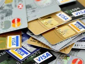 Карты с кредитной задолженностью
