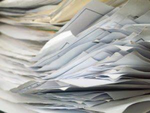 Кипа документов