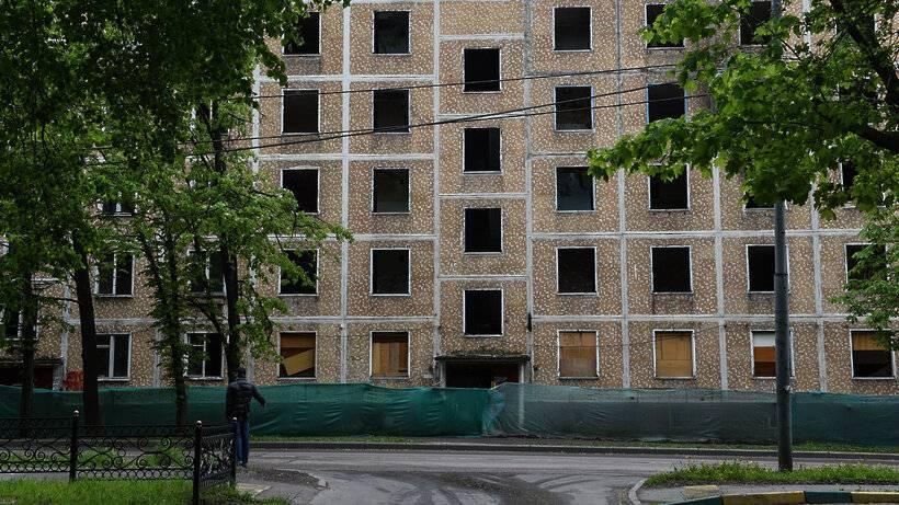 Несносимые серии домов по реновации москвы