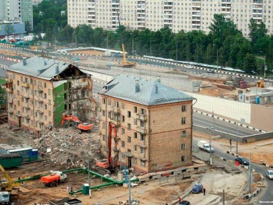 Законопроект о сносе несносимых пятиэтажек по программе реновации: последняя информация