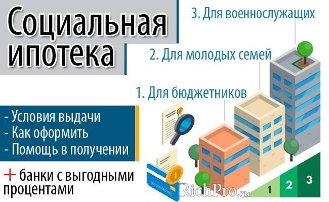 Программы ипотеки для бюджетников и условия выдачи