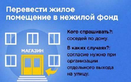 Процедура перевода нежилого помещения в жилое