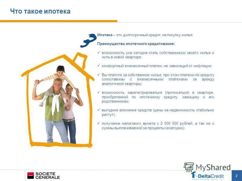 Что лучше ипотека или кредит