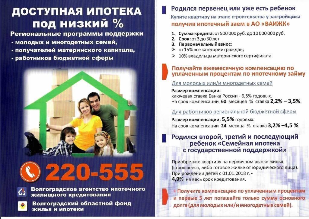 Ипотека для бюджетников в 2020 году — условия в сбербанке, втб и других банках в московском