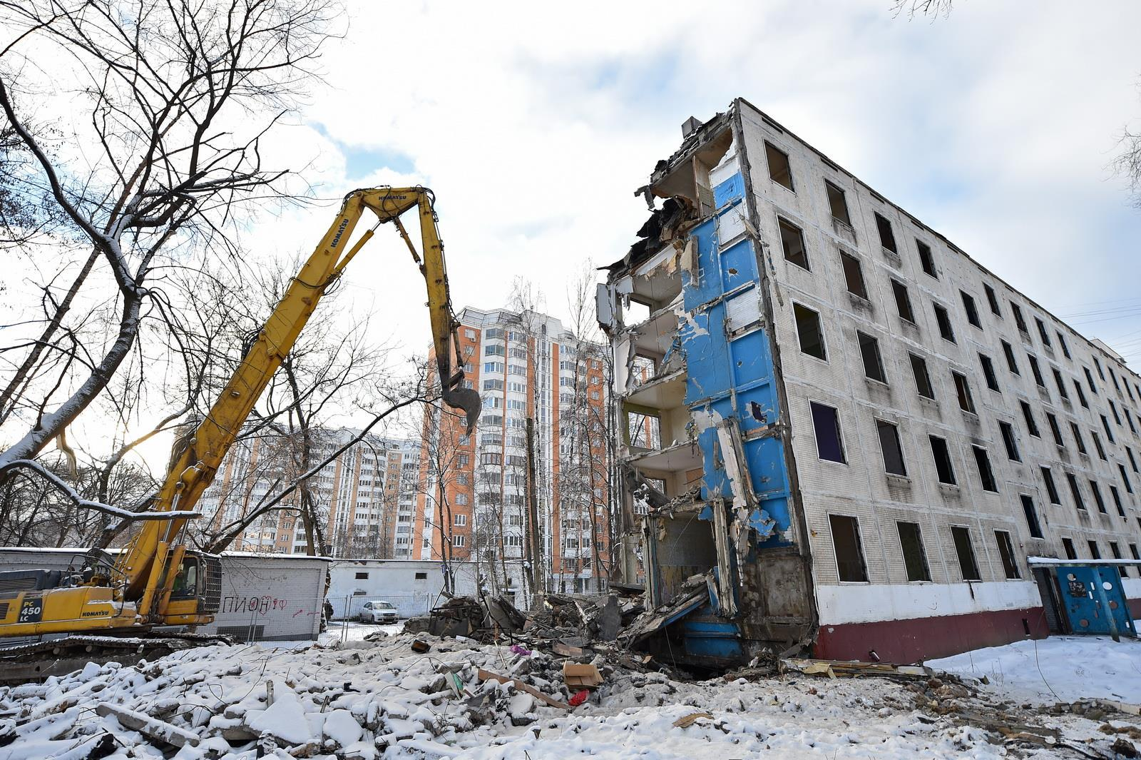 Несносимые серии пятиэтажек в москве: программа сноса хрущевок